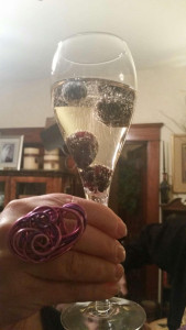 Sparkling Wine With Fruit